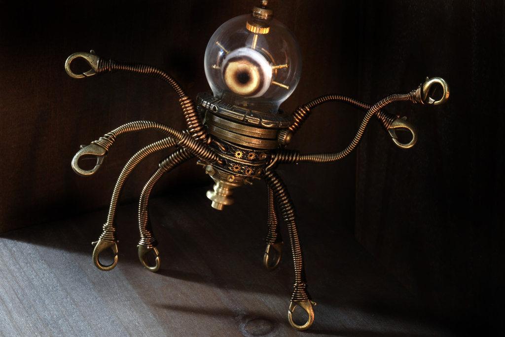 Le opere d'arte steampunk che hanno segnato il tempo in questo stile a portata di mano. Leggendari dipinti e sculture ai migliori prezzi.