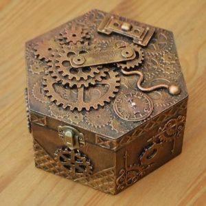 scatola steampunk