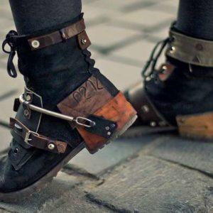 scarpe steampunk